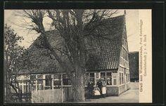 Alte Ansichtskarte: AK Westmoorende, Gastwirtschaft J. v.d. Beck