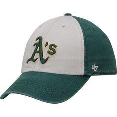 92f026f638849 Men s Oakland Athletics  47 Gray Green Freshman Franchise Fitted Hat