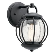 """View the Kichler 49726 Vandalia 1 Light 11.5"""" High Outdoor Wall Sconce at LightingDirect.com."""