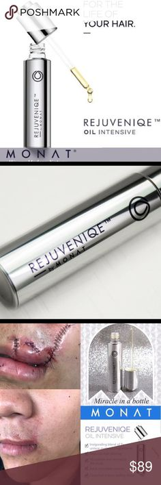 NWOT - Rejuvenique oil by Monat. This is a 100% natural product. This product has many uses from hair repair, acne treatment, scar treatment and Skin irritations. ** Continue to the article at the image link.