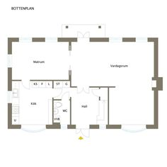 Skandiavägen 4 D St G, Floor Plans, Houses, Floor Plan Drawing