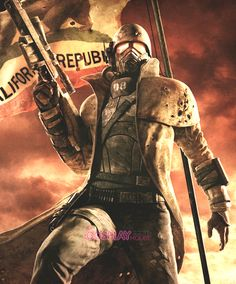 Fallout: New Vegas -- NCR Ranger Cosplay Costume Version 01