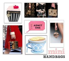 """""""Mini Handbags"""" by giselsimon ❤ liked on Polyvore featuring Minime"""