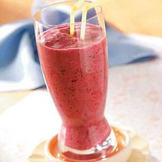 February is National Berry Month.  Smoothies are the perfect start to a healthy morning!  Try a four berry smoothie for breakfast on February 5.