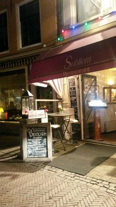 Restaurant works with only organic food! Very good. Haarlem