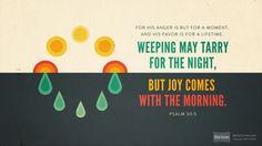 Psalm 30:5 (NRSV) - Biblia.com