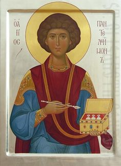 You can order this painted icon of the Holy Great Martyr and Healer Panteleimon from our Catalog of St Elisabeth Convent. It will be painted based on your preferences Paint Icon, Hand Carved, Hand Painted, Painting Studio, Orthodox Icons, Tempera, Sacred Art, Religious Art, Printmaking