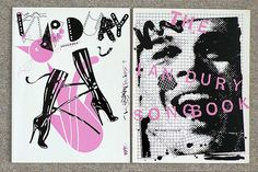The Ian Dury Songbook designed by Barney Bubbles