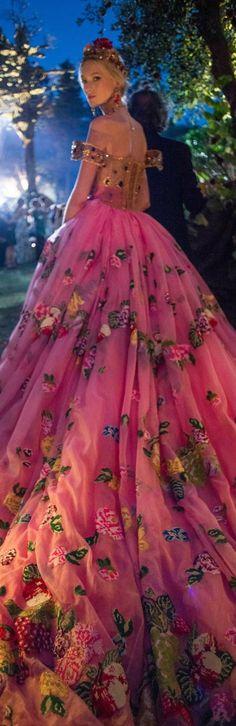Dolce&Gabbana Alta Moda Fall 2015 couture