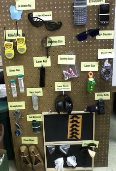 Guess the Secret Gadget Board.                 Agency D3- put by the T-shirts