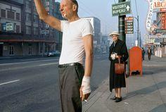 """""""Man With Bandage,"""" 1968 Credit Fred Herzog."""