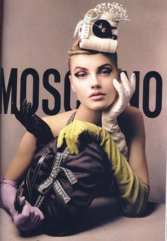 Moschino Ads | Moschino Ad 1 | I have had this inspirational image on my ...