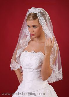 Wedding+Veils | other items from bridal veils category wedding veil lace finnished