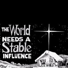 meaning of Christmas The stability of Jesus Christ.