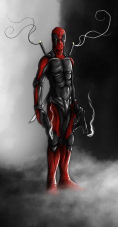 #Deadpool #Fan #Art. (Dead pool) By: Thegameworld