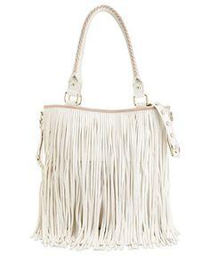 White-hot! Steve Madden Tote #bag #purse #fringe BUY NOW!