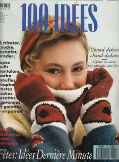 100 idées n°170 Parka, French Magazine, Book Crafts, Craft Books, Crochet Magazine, Beret, Pulls, Arm Warmers, Free Pattern