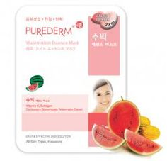 Purederm Watermelon Essence Mask
