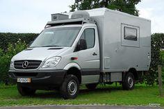 Exploryx Impala VI, 4x4 Mercedes Sprinter expedition camper.