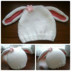 cappellino a coniglietto