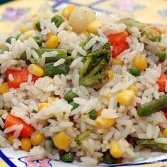 Гарнир из басмати и овощей - фото шаг 9