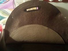 Fashion Rehabbers / 2 circle placemat clutch
