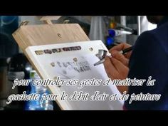 cours à l'aérographe - YouTube Airbrush, Flask, Stencils, Cars, Model, Cooking Food, Recipes, Air Brush Machine, Autos