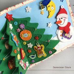 Всем замечательных выходных! ☃️🙃 . #playbook #activitybook #feltbook #babytoys #игрушкиизфетра #развивающаякнижка #подарокребенкунановыйгод…