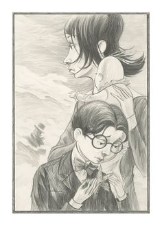 THe Baudelaires on the Beach by BrettHelquistArt on Etsy