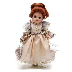 "Madame Alexander 8"" Doll Sophisticated Silk Victorian Redhead # 26780 2000 #MadameAlexander #DollswithClothingAccessories"
