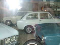 special cars in showroom
