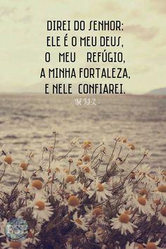 Tu és meu tudo, meu refúgio e ajudador. Bem sei eu que nada sou e nem posso sem Ti, ó Deus. >> Eu Sou Evangélica / Eu Sou Evangélico