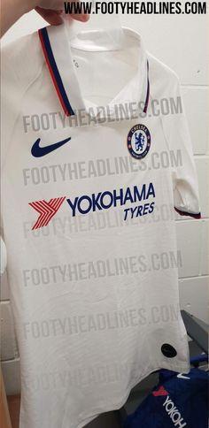 Chelsea Away Kit Leaked - Footy Headlines Football Kits, College Football, European Soccer, Fc Chelsea, Zinedine Zidane, Polo Neck, Ac Milan, Tottenham Hotspur, Liverpool Fc