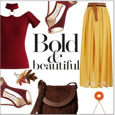 How To Wear Bold Fall Outfit Idea 2017 - Fashion Trends Ready To Wear For Plus Size, Curvy Women Over 20, 30, 40, 50