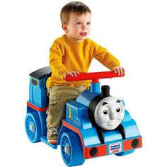 Fisher-Price Power Wheels Thomas, Blue
