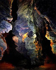 Caverna de cristal na Ucrânia