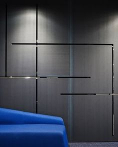 Image 4 of 16 from gallery of Prescient Offices / Perkins+Will. Photograph by Hedrich Blessing Photographers Wardrobe Door Designs, Wardrobe Design Bedroom, Wardrobe Ideas, Visual Merchandising, Modern Wall Paneling, Tv Feature Wall, Best Interior, Interior Design, Office Wall Design