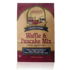 my family cannot live without pancakes or waffles.