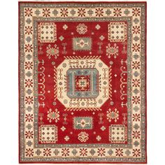 Ecarpetgallery Hand-knotted Finest Gazni Wool Rug