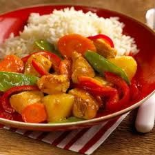 Sweet and Sour Chicken  ----  5 Stars  --  This was excellent.  I don't have to change anything.  I did use brown rice instead of white.