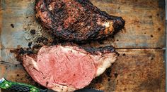 In my humble opinion, the only thing better than roasted prime rib is smoked prime rib. The seductive flavor of the wood smoke and spice mingles with the flavorful beef to create a dish of epic … Prime Rib Au Jus, Smoked Prime Rib Roast, Prime Rib Steak, Smoked Ribs, Rib Roast Recipe, Prime Rib Recipe, Cooking Prime Rib, Standing Rib Roast, Rib Recipes