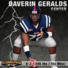 Daverin Geralds- Center