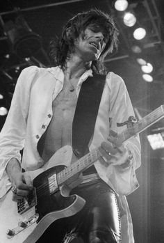 Keith Richards of the Rolling Stones USA Tour 1975