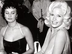 Story Behind Infamous Sophia Loren Jayne Mansfield Photo