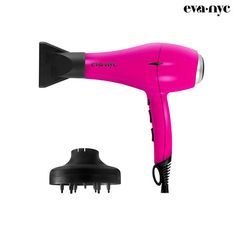 3-Piece Set: EVA NYC Almighty Pro-Lite Ionic Dryer & Accessories at 73% Savings off Retail!
