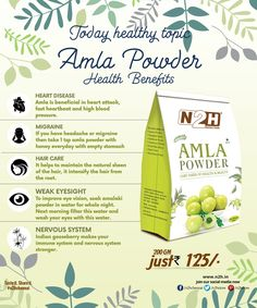 Amla also known as Phyllanthus Emblica is a fruit of the Gods. It is used in theworship of lord Vishnu. It is rich in Vitamin C and minerals and is considered a powerful antioxidant agent. It regulates the metabolism, purifies the blood reduces acidity acts as a sodium cleanser brings a healthy shine to the hair, eyes & skin. According to Ayurveds the regular consumption of Amla for 40 days in the morning is a valuable medicine against the various body ailments.  Directions: We recommend to…