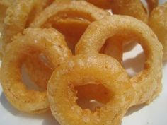 Crisp Fried BEER - BATTERED ONION RINGS - How to make ONION RINGS Recipe - YouTube