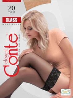 Conte Stockings Tights Lace 20 DEN