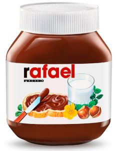 Tenho uma etiqueta da Nutella com o meu nome! ahahah this is gonna be so cool! Nutella Label, Nutella Cookies, Chocolate Caliente, Star Cookies, Chocolate Desserts, Hot Chocolate, The Cure, Healthy Recipes, Healthy Food