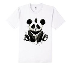 cool panda illustration Classic T-Shirt Cool Tees, Cool T Shirts, Cool Panda, Best Tank Tops, T Shirts With Sayings, Graphic Shirts, Unique Art, V Neck T Shirt, How To Look Better